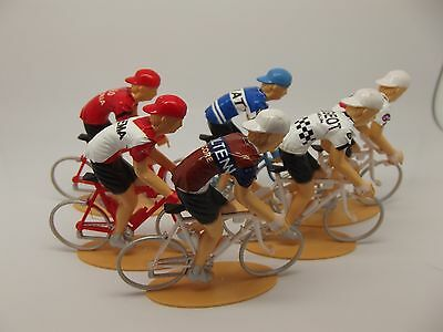 Eddy merckx cycling figures collection team molteni peugeot fiat c&a