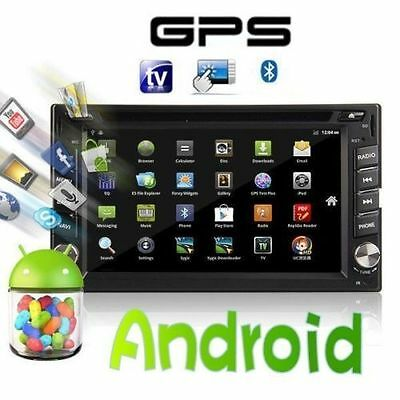 """Pure Android 2Din Car Stereo GPS DVD Player 6.2"""" Tablet Double DIN Radio 3G WiFi"""