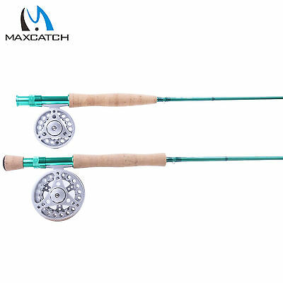 Fly Fishing Rod and Fly Reel 3/4/5/6/8WT Medium-fast IM8 Graphite Fly Combos