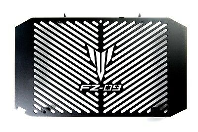 FZ-09 Radiator Grill Grille Guard With FZ-09 Logo, CosmoMotoAccessories
