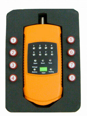 Revez 8 Way Coaxial Cable Mapper / Tester / Tracker  - Sky, Freesat, TV