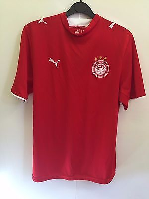 Kids Puma Olympiakos Football ShIrt - UK 32/34 - Red - BNWT