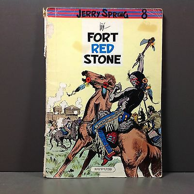 Jerry Spring Nr 8 - Fort Red Stone - 1960