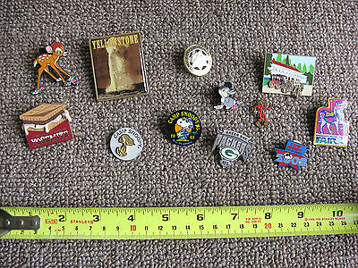 Collector Trading Pins-National Park, Peanuts, Vintage Themes