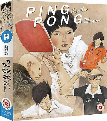 Ping Pong The Animation: Complete Series: Collector's Edition: new Blu-Ray