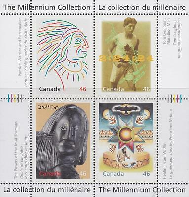 CANADA 2000 Millennium collection #1826 – 9 Canada's First People