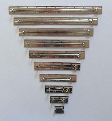 Miniature Medal Mounting Brooch Bars. ( Sizes 1 - 10 Spaces ).