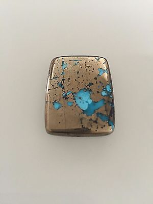 60.5 CT 100% Genuine Persian Turquoise Cabochon