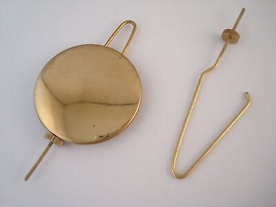 Replacement American / Ansonia Clock Pendulums & Wires - Various Types & Sizes