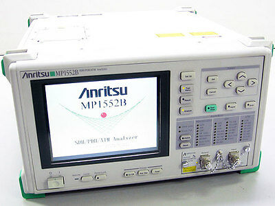 ANRITSU MP1552B SDH PDH ATM ANALYZER WITH MP0111A 156M/622M (1310nm) MODULE