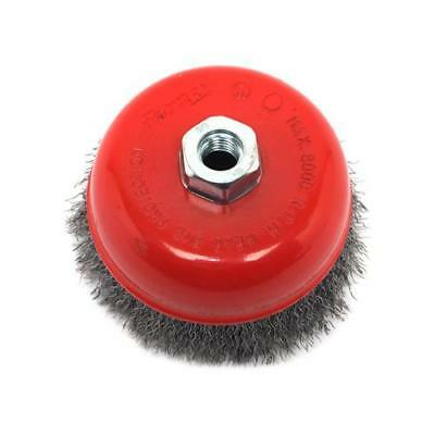 Forney Industries 72754 Crimped Wire Cup Brush, 5-In. - Quantity 1