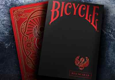 Bicycle Scarab (Red) Playing Cards brand new sealed
