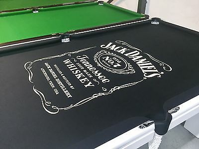 JACK DANIELS 7ft Italian Slate Pool Table Pub Size Ballina Gold Coast Grafton