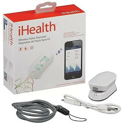 iHealth Wireless Pulse Oximeter PO3 for Apple iSO