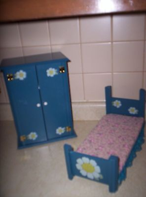 Doll Wardrobe And Bed Betsy Mccall?