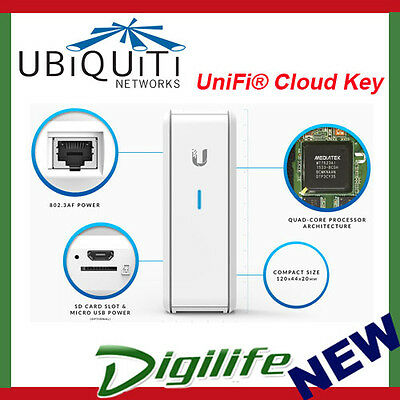 Ubiquiti UniFi Controller Cloud Key Hybrid Cloud Remote Access PoE UC-CK