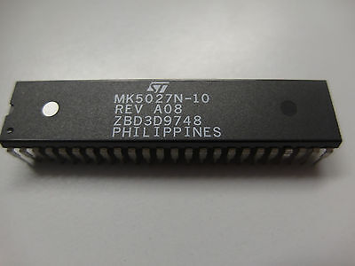1x MK5027N-10 Micro Controller SS7 Signaling link, DIP48, ST Micro (Lager L148)