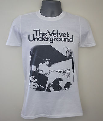 Velvet Underground t-shirt gig flyer lou reed iggy pop the 13th floor elevators