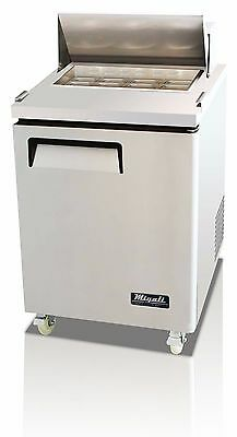 Migali C-SP27-8 Single Door Sandwich Salad Prep Table