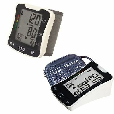 New Blood Pressure Monitor Wrist/Upper Arm Large Digital Display Health