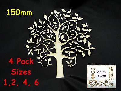 NEW Family Tree Design By Franky Size 150mm High 4 pack sizes Buy more & save#20