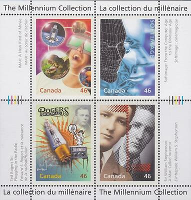 CANADA 1999 Millennium collection–1 #1818 – Media Technologies - MNH