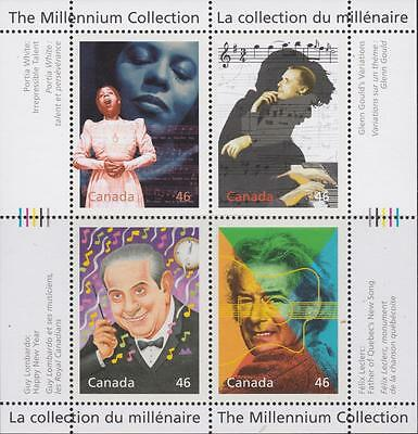 CANADA 2000 Millennium collection #1820 – Extraordinary  Entertainers