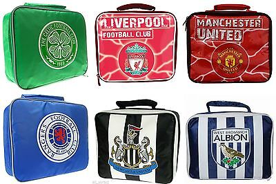 Official Football Club Insulated Lunch Bag Boys/Girls