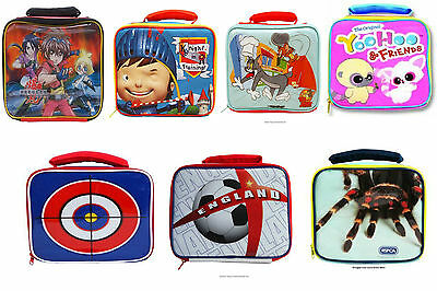 Character Official Boys/Grls Insulated Lunch Bags