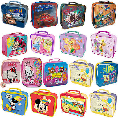 Childrens Character Back To School Boys/Girls Lunch Bags