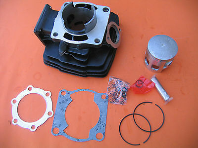 Cylinder Jug Barrel Piston Gasket Kit  for YAMAHA DT125 Dirt Bike 125cc 79'-81'
