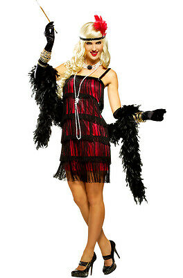 Fifth Avenue Flapper Adult Costume (Red)