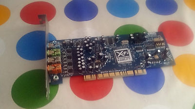 Creative Spund Blaster X-Fi Xtreme Fidelity 7.1 Sb0790 Pci -Offers Are Welcome !