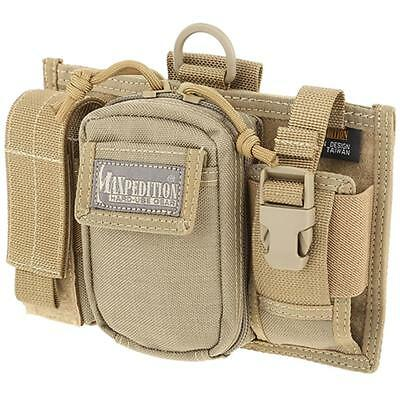 MAXPEDITION Triad Admin Pouch Adjustable Khaki