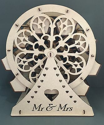 Y35 WEDDING DAY Sweet Stand HOLDER Carousel FERRIS WHEEL Party MDF Table Display