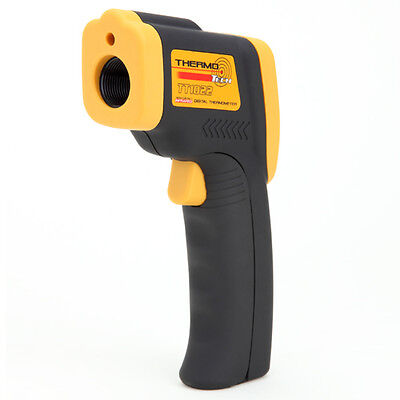 ThermoTech TT1022 Non-Contact Infrared Digital LCD Laser Thermometer