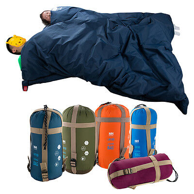 Outdoor Sleeping Bag Envelope Camping Travel Hiking Ultra-light Four Seasons XY