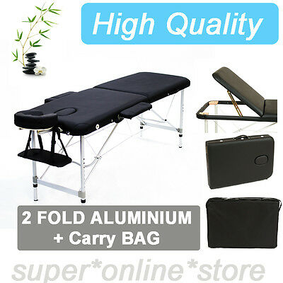 NEW  Portable Aluminium body Massage Table Chair Bed foot  Beauty Therapy Wax