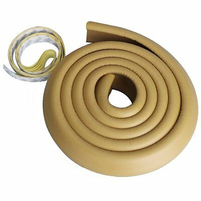 Baby Desk Table Edge Guard Protector Foam Safety Cushion Strip Yellow 2M YM