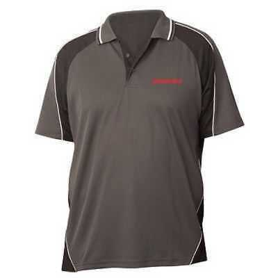 Genuine Kenworth Grey Tru Dry Polo Shirt Size 2Xl (C-Ken585)