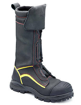 Blundstone 980 Full Height Waterproof Safety Steel Cap Mining Boots Black