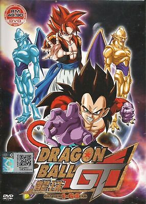 Anime DVD Dragon Ball GT Vol 1-64 End Complete Animation ENGLISH DUBBED Box Set