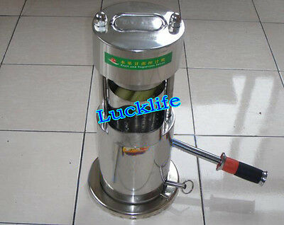 Household Stainless Steel Manual Fruit Sugar Cane Juicer/Fruit Juice Extractor H