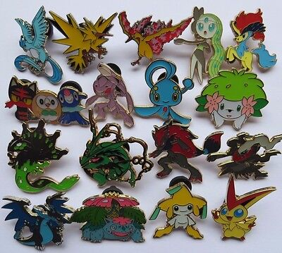 POKEMON Pins/Badges (Select your choice)