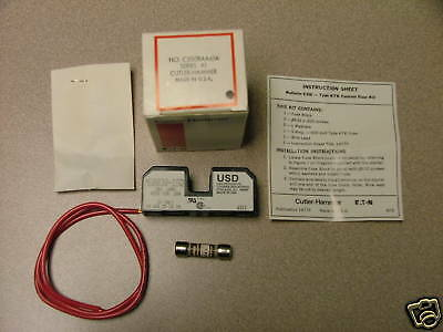 Cutler-Hammer Fuse Block Kit, C350Baa61A, New