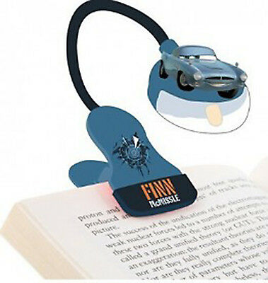 Disney Cars Finn McMissle Booklight 100% Official Product