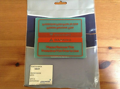 Parweld Front Cover Lens Xr 420  Bn Free Postage X 1