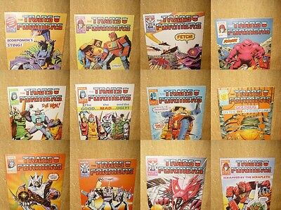 ***choose Your Issue*** Original British Weekly Uk Transformers Marvel Comics