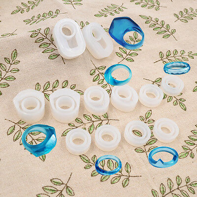 Ring Making DIY Accessories Craft Mould Tools Mold Silicon Transparent Jewelry