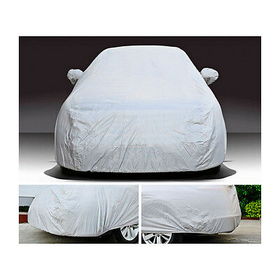 Car Auto Cover Outdoor Sun Anti UV Dust Protection Resistant For All Sedan